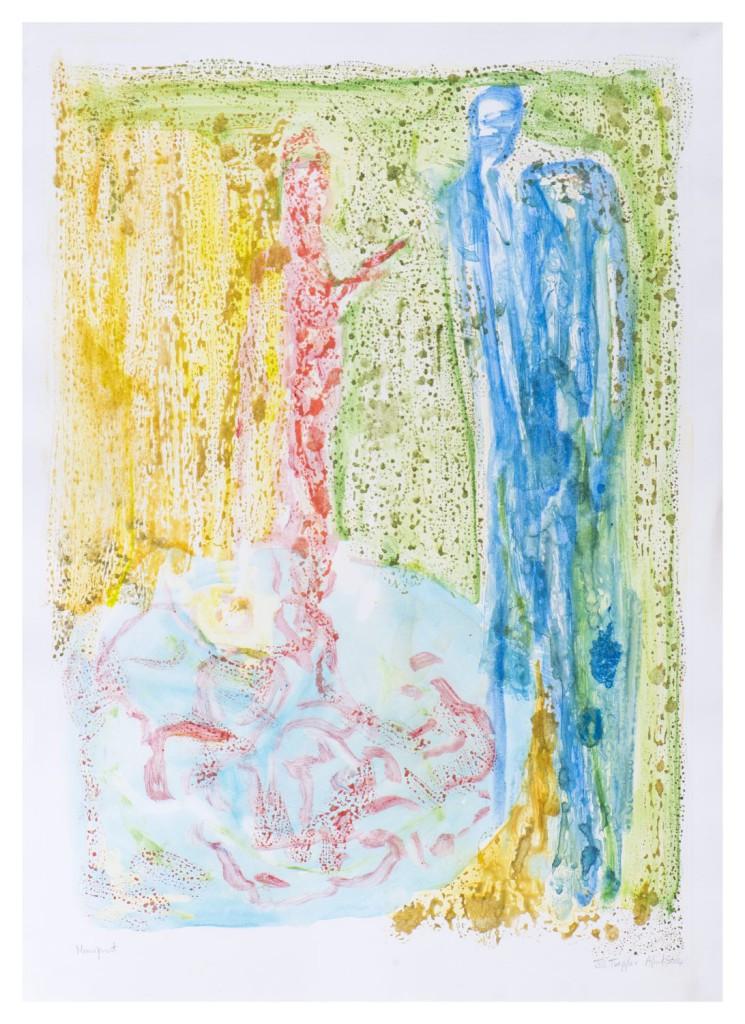 Monoprint, 56 x 76cm, MP 101
