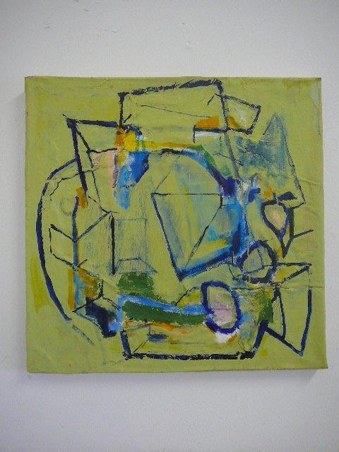 Recycled 7/b 52 x 52 cm 2015 Acrylic on canvas