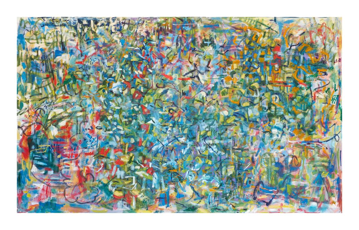 Oil Canvas. 2017 150 x 240 cm