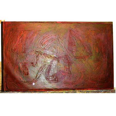 Stoep / Size: 290 x 180 cm / acrylic on canvas 1997 to 2001