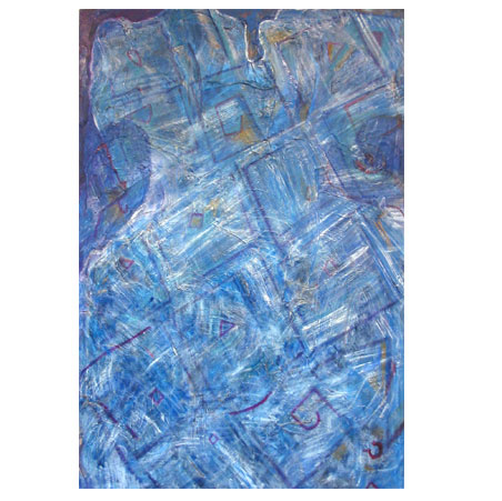 title: bd / series: tiw / size: 120 x 170 cm / media: acrylic and canvas / 2005