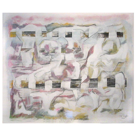 series: tiw size: 75 x 65 cm / media: mixed media on paper 2003