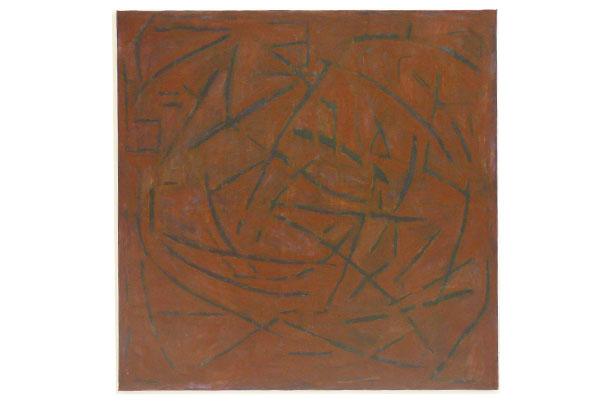 Stella Rosa / acrylic on canvas / 1700 x 1700 cm / 1999/2000