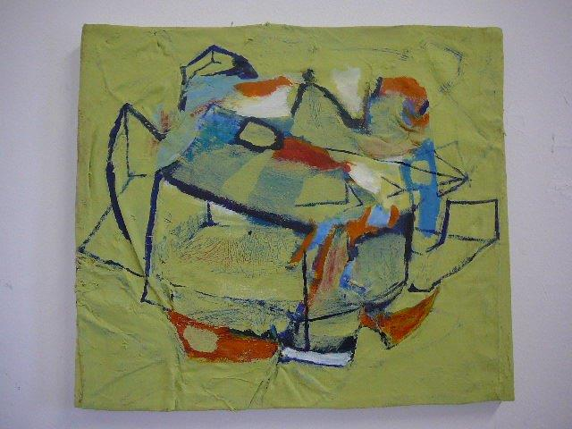 Recycled 1/b 2015 47 x 52 cm Acrylic on canvas