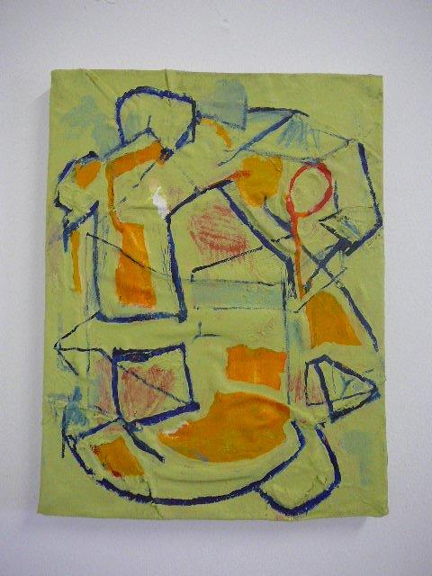 Recycled 2/b 2015 39 x 50 cm Acrylic on canvas