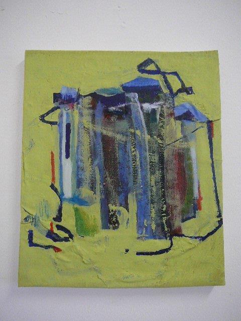 Recycled 3/b 2015 Acrylic on canvas