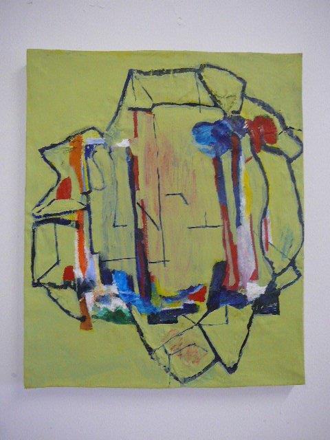 Recycled 5/b 46 x 55 cm Acrylic on canvas