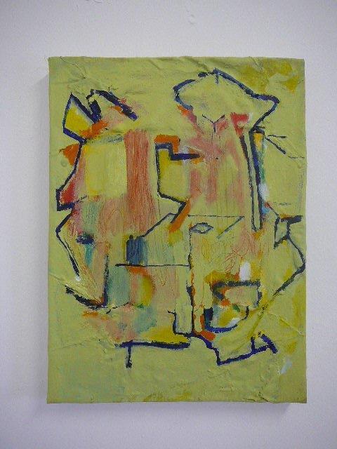 Recycled 6/b 2015 Acrylic on canvas