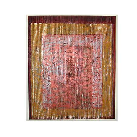 reverberation series / Size: 160 x 190 cm / acrylic on canvas 1997