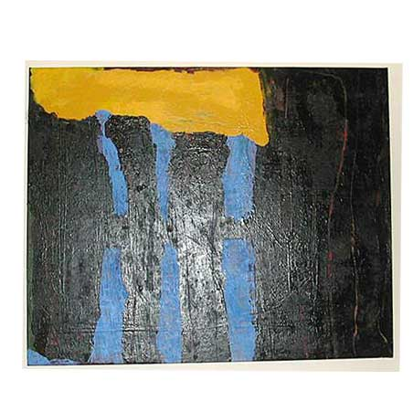 #19 untitled 4 / Size: 105 x 129 cm / acrylic on canvas