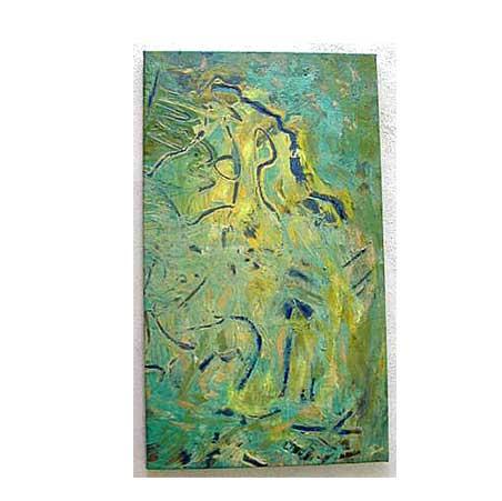 #19 / Size: 84 x 48 cm / acrylic on canvas 2003