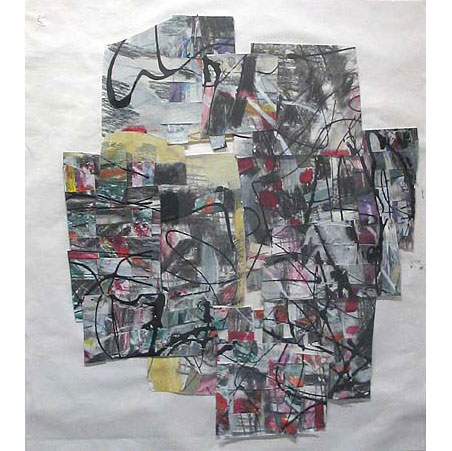 series: tiw / size: 60 x 62 cm / media: mixed media on paper / 2004