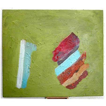 #28 / Size: 65 x 56 cm / acrylic on canvas 2003