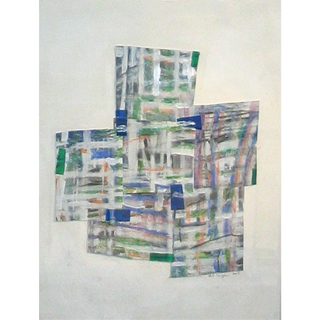 series: tiw / size: 61 x 54 cm / media: mixed media on paper / 2003