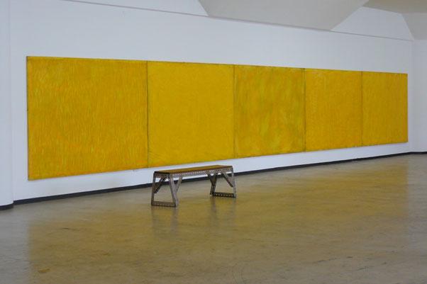 Breathe / acrylic on canvas / 1860 x 2700 cm x 5 / 2000/2001