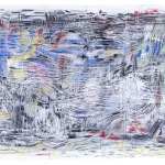 Mixed media on bamboo paper, 70 x 100cm, PP121